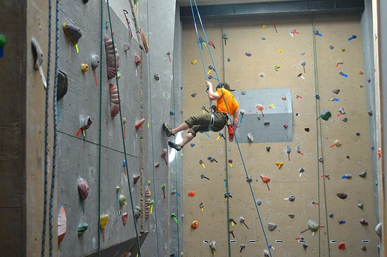 20 Foot Walls at the Crux Rock Climbing Center in Willsboro NY