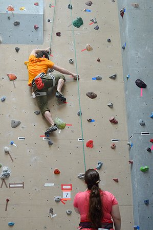 Willsboro, NY: Technical Rock Climbing route at the Crux Champlain Valley Climbing Center
