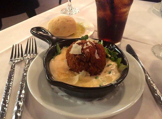 Charleston, Batı Virjinya: The MUST have appetizer, Mushroom Arancini