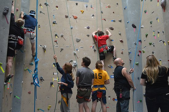 Indoor Rock Climbing Center in the Adirondack Mountains, Willsboro NY