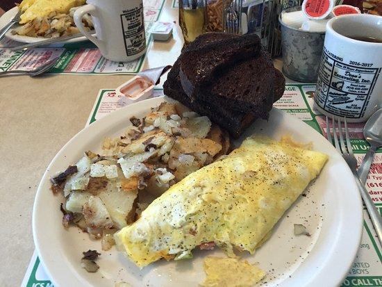 Cedar Springs, MI: Denver omelette