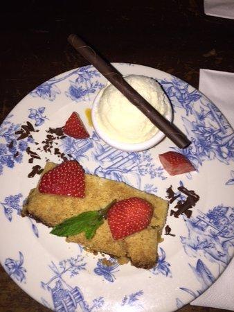 O'Flaherty's Pub: tarte aux pommes