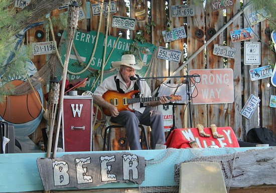 Open Air Bars in Port Aransas offer a lot of fun and live music