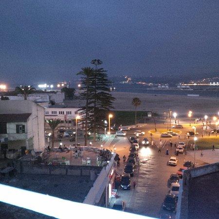 Hotel Royal: Vu sur la terrasse sur le toit de l hotel