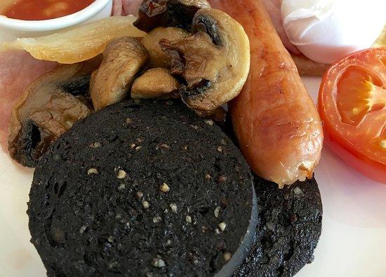 Prestwick, UK: breakfast