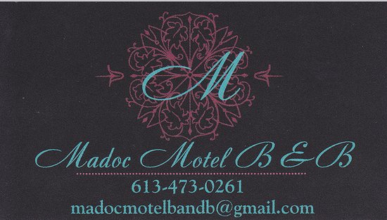 The Madoc Motel : Contact Information