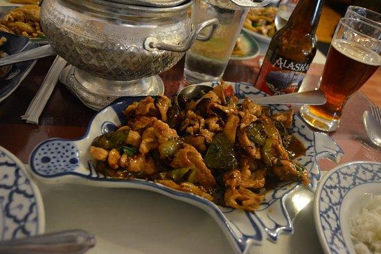 Thai House Restaurant: Notice the pig shaped dish