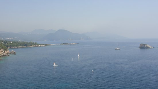 Sivota, Yunanistan: View from our balcony at Costa Smeralda
