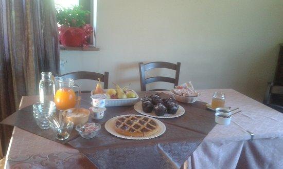 Montebuono, Italië: le nostre colazioni