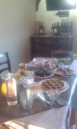 Montebuono, Italië: ancora il buffet