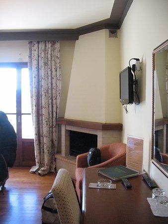 Pelasgos Hotel: Μία γωνία από το δωμάτιο...