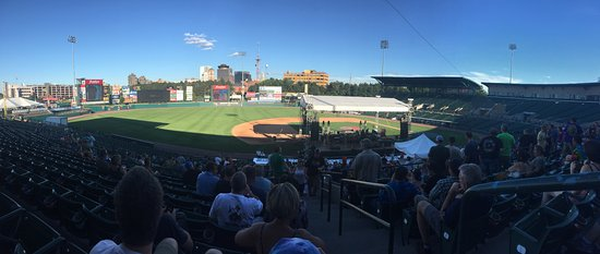 Frontier Field: Prior to the show.