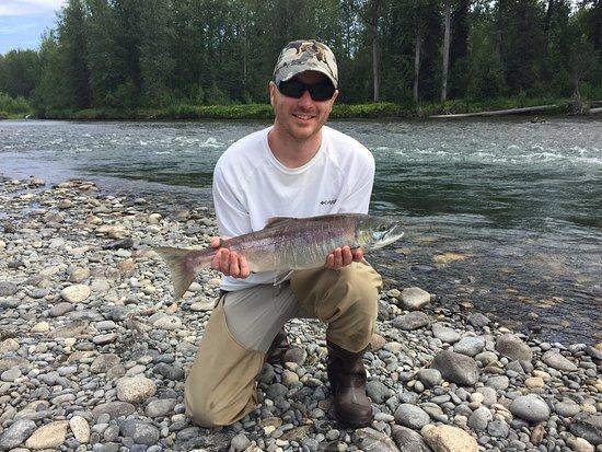 Skwentna, AK: Sockeye salmon