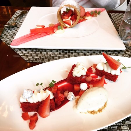 Aureole: two desserts