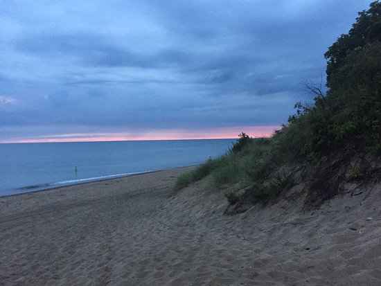 South Haven, MI: Van Buren State Park Sunset (July 2016)