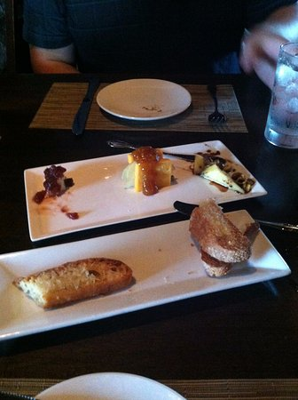 Pewaukee, WI: Cheese plate appetizer.