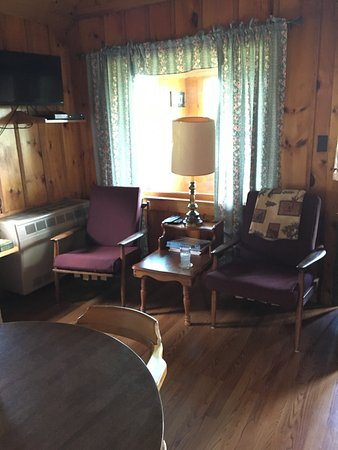 "Pittsburg, Nueva Hampshire: Webster ""Living Room"""