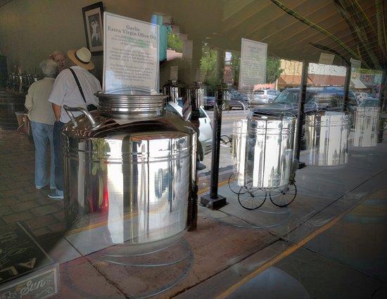 Verde Valley Olive Oil Traders: Display