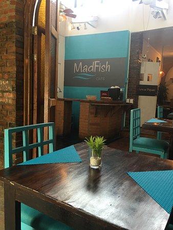 San Rafael de Escazu, Коста-Рика: MadFish cafe