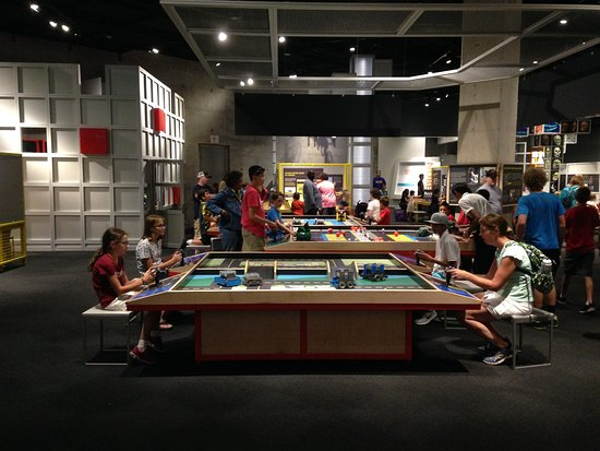 Interactive Robotics Table Picture Of Perot Museum Of Nature And