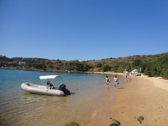 Pousadas Unicornio: Praia Ferradura, buenisima!