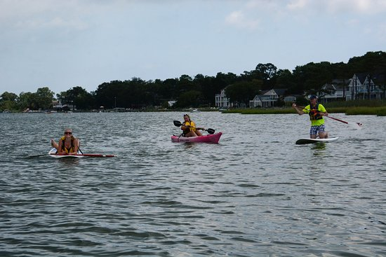 Ocean View, DE: fun in the bay