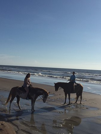 Fernandina Beach, FL: Awesome experience! Nikki and the horses were great!!!