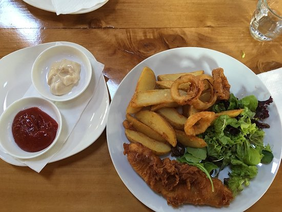Richmond, Nya Zeeland: fish and chips