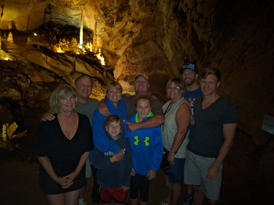 Townsend, TN: The BIG room in the cavern