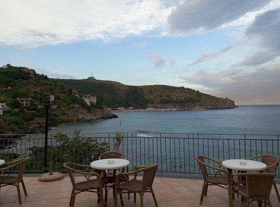 terrazza - Picture of Albergo Miramare, Palinuro - TripAdvisor