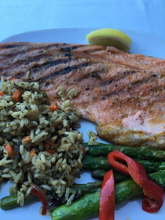Ketchum, ID: Fresh Fish Dinner