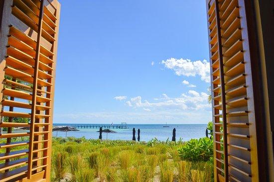 NIZUC Resort and Spa: View from restaurant.