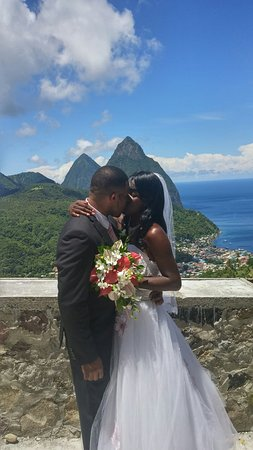 Vieux Fort, Saint Lucia: A very special day