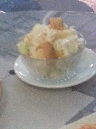 De Knas: Russian salad, nothing extraordinary!