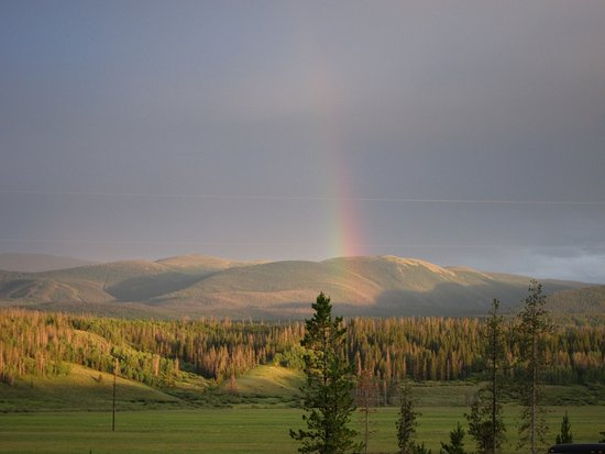 Fraser, CO: Beautiful Rainbow
