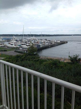 Greenport, NY: Balcony View from Room 304