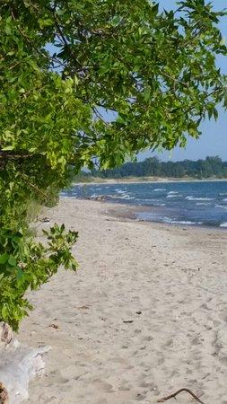 Wolfe Island, Canadá: Big sandy bay Wolfe islsnd ontario