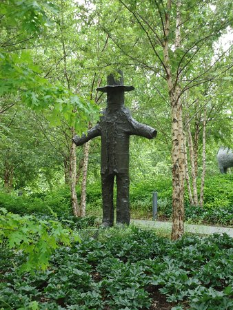 scarecrow picture of city garden saint louis tripadvisor