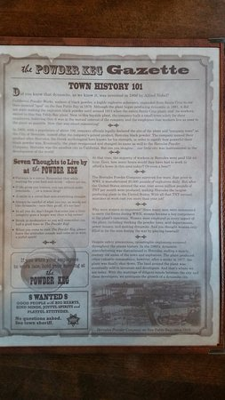 Hercules, CA: History of the restaurant
