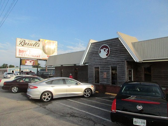 Russell's Beef House, Corinth, Mississippi.
