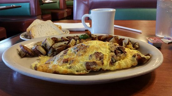 San Pablo, CA: Great omelette