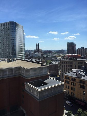 Hyatt Regency Boston: Vista do apartamento