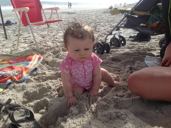 Paradise Beach & Park: Our youngest grand baby