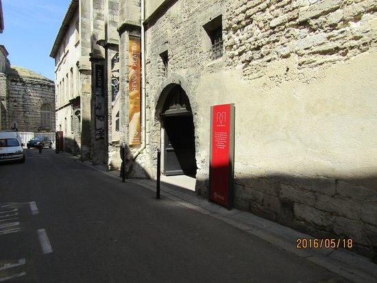 Musee Reattu: レアチュー美術館の入口