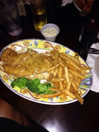 Ballston Spa, Nowy Jork: Fish and chips