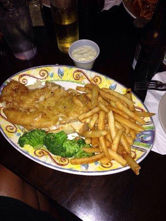 Ballston Spa, État de New York : Fish and chips