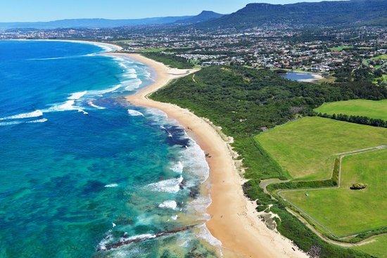Corrimal, Australia: Aerial over Park looking south