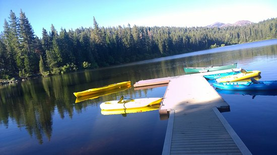 Emigrant Gap, Kalifornien: Boat Dock, kayaks for rent