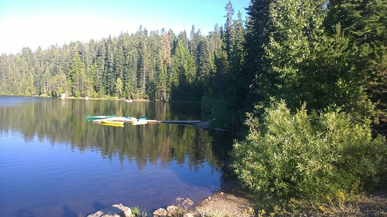 Emigrant Gap, Kalifornien: Boat Dock and Lake