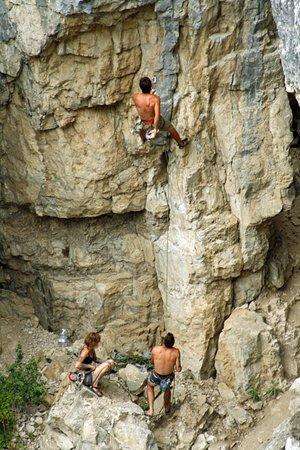 Big Timber, MT: rock climbing